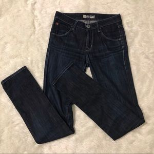 Hudson darkwash skinny Jeans size 24